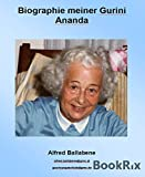 Biographie meiner Gurini Ananda (German Edition)