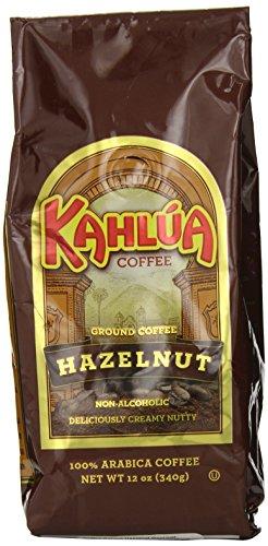 Coffee Kahlua Hazelnut Gourmet Ground Coffee, 12-Ounce Bags (Pack of 2)