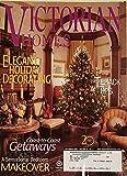 Victorian Homes Elegant Holiday Decorating December 2002 Volume 21 Number 6
