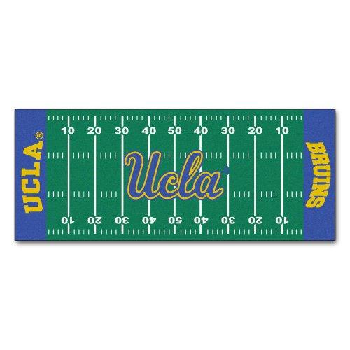 Los Angeles Football Rug - FANMATS NCAA UCLA Bruins Nylon Face Football Field Runner
