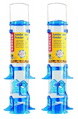 (2 Pack) Stokes Select Jumbo Seed Bird Feeder
