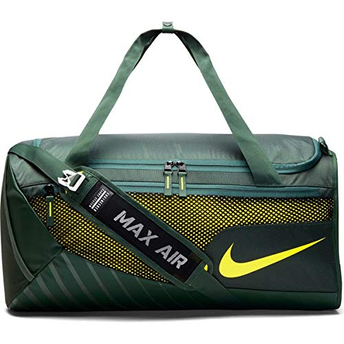 Nike Green NCAA College Oregon Ducks Vapor Duffel Bag, Size Medium (3174 Cubic Inches) - College Nike Bags
