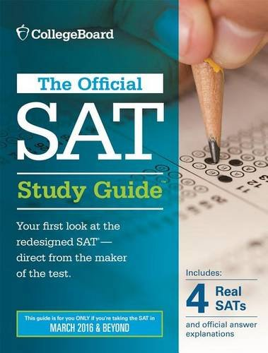 The Official SAT Study Guide, 2016 Edition by The College Board cover