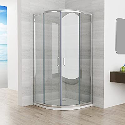 90 x 90 x 195 cm cabinas de ducha Cuarto Círculo redondo ducha ...