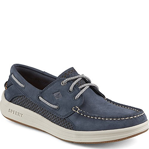 Sperry Top-Sider Men's Gamefish 3-Eye Boat Shoe, Navy, 9.5 M (Blue Boat Shoes)
