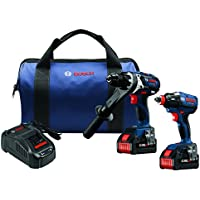 Bosch 2 Tool Core18V Batteries Gxl18V 225B24 At A Glance