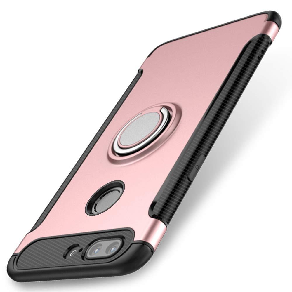 WindCase OnePlus 5T Funda, Anillo Giratorio de 360 Grados ...