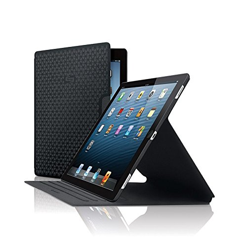 Solo Vector 12.9 Inch Slim Case for iPad Pro, Black