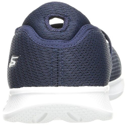 outlet fast delivery with credit card sale online Skechers Women's Go Step Lite-Blooming Walking Shoe Navy/White collections sale online 4Q6OaM398n