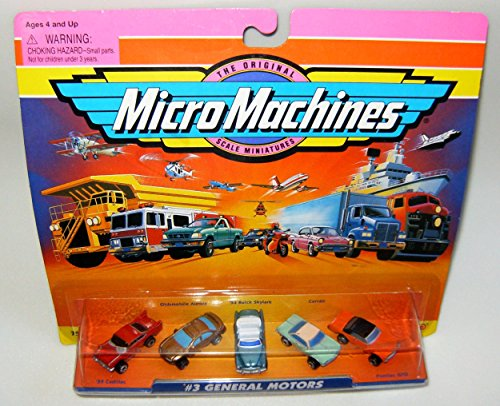 Micro Machines General Motors #3 Collection