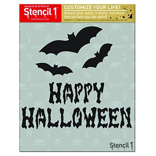 (Stencil1 Happy Halloween 8.5 X)