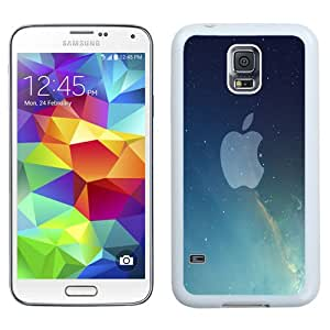 NEW Fashion Custom Designed Cover Case For Samsung Galaxy S5 I9600 G900a G900v G900p G900t G900w Apple Space White Phone Case