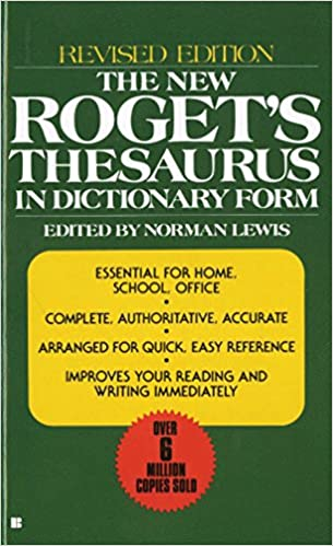 New American Rogets College Thesaurus in Dictionary Form Revised /& Updated
