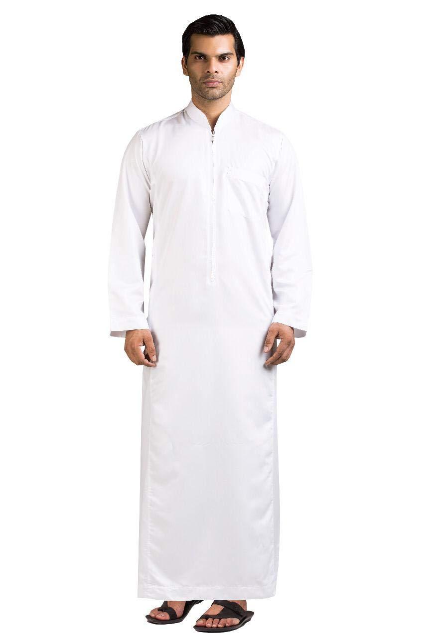 Kamani Ehsaan Mens Thobe/Kaftan Kamani-Islamic Clothing Jubba for Men-Muslim Thobes