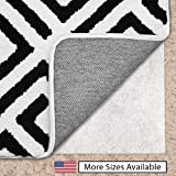 Gorilla Grip Original Area Rug Gripper Pad for Carpeted Floors, Made in USA, 2 FT x 4 FT, Helps Reduce Shifting and Bunching, Pads Provide Thick Cushion Under Rugs Over Carpet