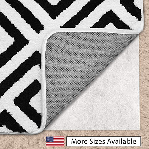 Gorilla Grip Original Area Rug Gripper Pad for Carpeted Floors, Made in USA, Size (3' x 5'), Available in Many Sizes, Pads Provide Thick Cushion Under Rugs Over Carpet (Rug Grip Rug)