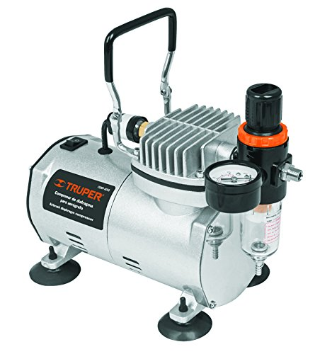 - TRUPER COMP-AERO Oil Free Airbrush Air Compressor