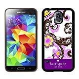 Samsung Galaxy S5 G9008V Kate Spade Black 032 screen phone case durable and newest design