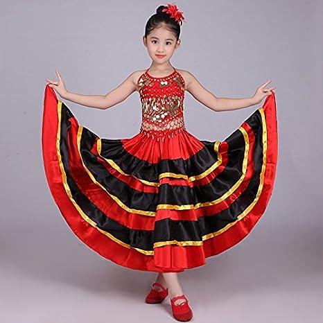 Amazon.com: dreamowl niños rojo bailarina de danza del ...