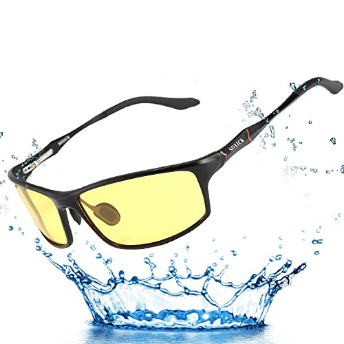 Night Vision Glasses for Driving Polarized Lens - German Sunglasses Brand