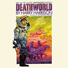 Deathworld Audiobook by Harry Harrison Narrated by Christian Rummel