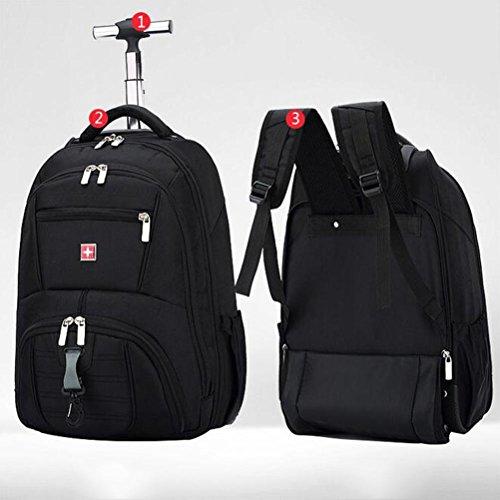 Trolley-Tasche Fliegend Genehmigt Leicht Tragetasche tragen 16 Zoll Computer Rucksack
