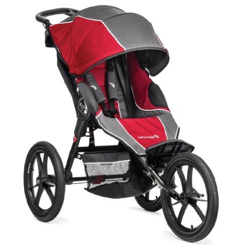 Baby Jogger F.I.T Jogging Stroller, Slate/Crimson (Discontinued by Manufacturer)