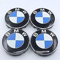 VIQILANY 4pcs Set 68mm Chrome Wheel Center Hub Caps Fit For BMW 1 3 4 5 6 7 Active Hybrid M X Z Series