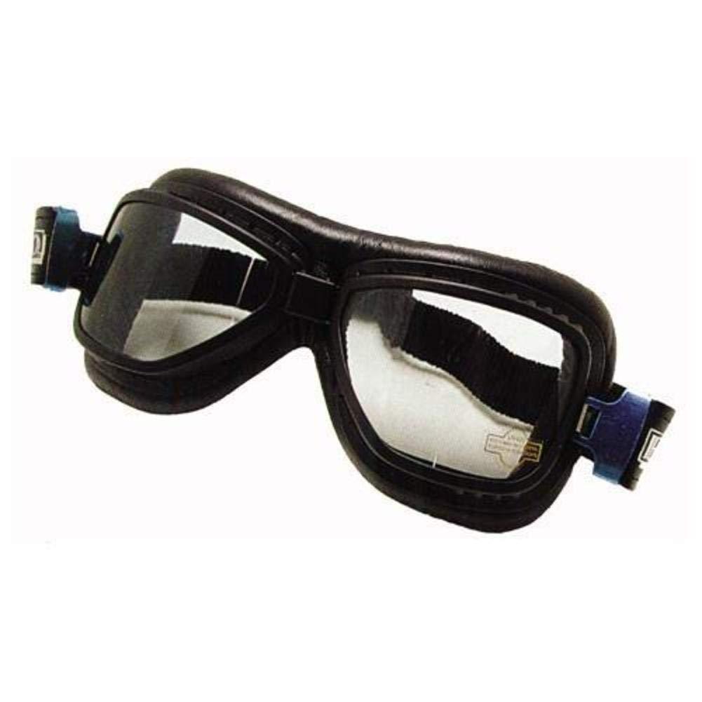 Una sola pieza de vinilo de emgo roadhawk antiniebla gafas de esquí, color: negro 76-50110 EM50110