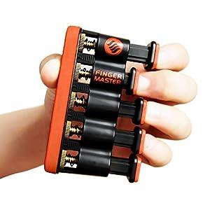 Finger Master Hand Strengthener ? Best Exerciser for Arthritis Therapy and Grip & Finger Strengthening Whether for Guitar Practice, Rock Climbing Training as well as Trigger Finger Training