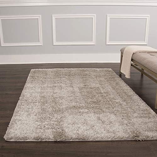 Home Dynamix Maya Shag Area Rug, 7 10 x10 2 , Gray