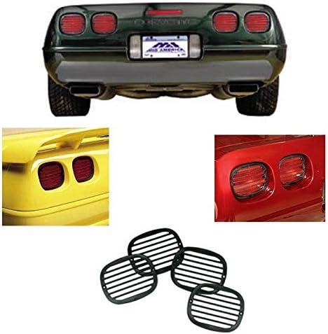 90 Through 96 Corvettes C4 Corvette Center Cushion Pad Black with Emblem Fits