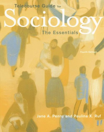 Telecourse Guide Exploring Society: Introduction to Sociology for Andersen/Taylor's Sociology: The Essentials