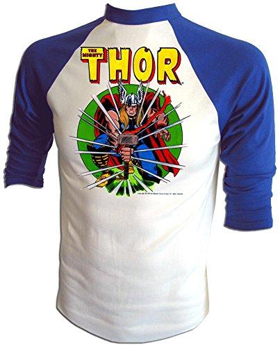 - Vintage 1975 Marvel Comics Jack Kirby Original Thor Comic Cartoon t-Shirt