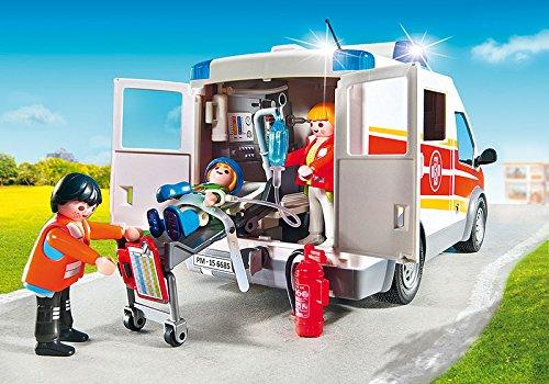 Jugatoys PLAYMOBIL Ambulancia con Luces Y Sonido 3