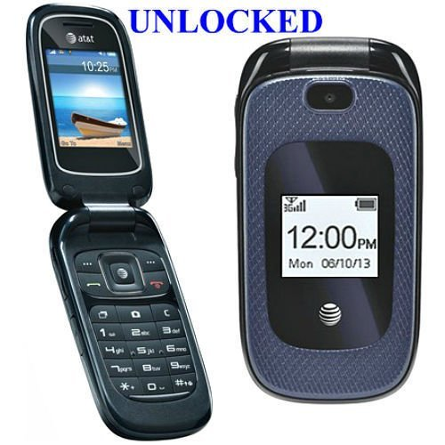 ZTE Z222 Unlocked Flip Phone with Camera (Att Unlocked Gsm Phones)
