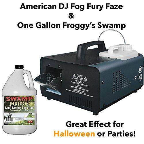 [American DJ Fog Fury Faze with One Gallon Swamp Fog Juice] (Big Fog Machine)