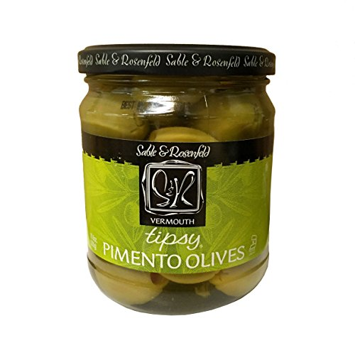 - Sable & Rosenfeld Tipsy Olives, Vermouth, 10.6 Ounce