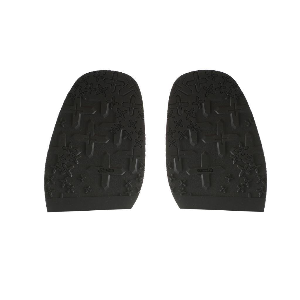 Generic Paire de Demi-Semelle Caoutchouc Avant-pied de Chaussure Réparation de Chaussures Artisanat Diy - 2, 2.5mm STK0155010484