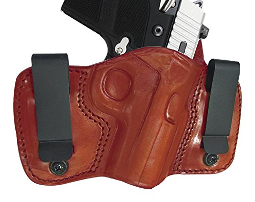 Tagua DCH-1037 Dual Clip Holster, Taurus Millennium G2, Brown, Right Hand by Tagua (Image #1)