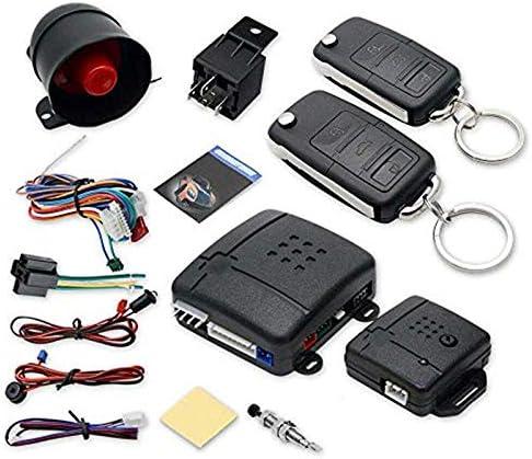scatola di contorl con sensore di scossa Serratura centrale universale per auto 2 telecomandi di ricambio per serratura centrale auto Style 15