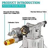 "MUTURQ Vertical Pressure Washer Pump 7/8"" Shaft"