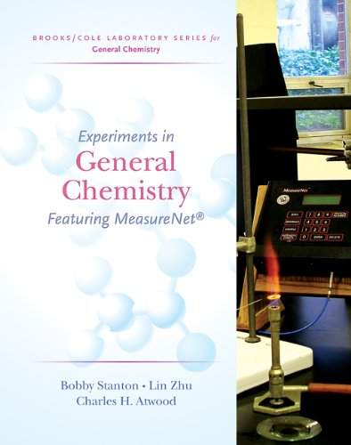 Experiments in General Chemistry: Featuring MeasureNet (Brooks/Cole Laboratory Series for General Chemistry)