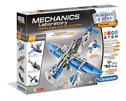 Clemontoni Mechanics Laboratory: Aeroplanes & Helicopters Educational Model Assembly Kit