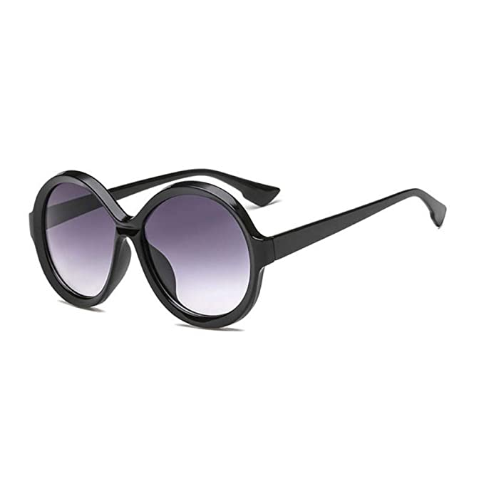 KIYRFAW gafas de sol redondas de gran tamaño mujeres ...