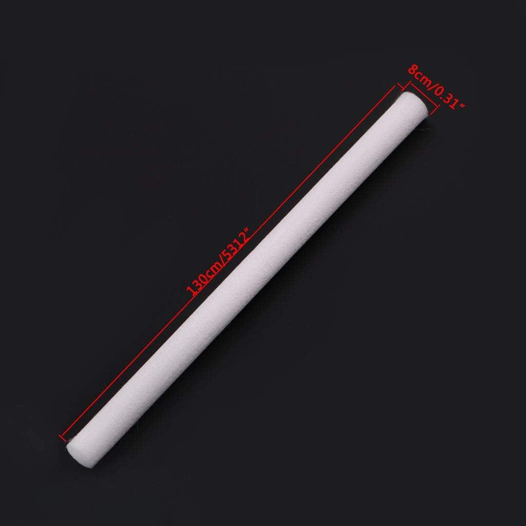 Yuaierchen Lot de 10 filtres cotons-tiges de rechange pour humidificateur /à ultrasons 8 x 130 mm