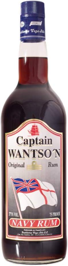 RON CAPTAIN WATSON L.: Amazon.es: Alimentación y bebidas