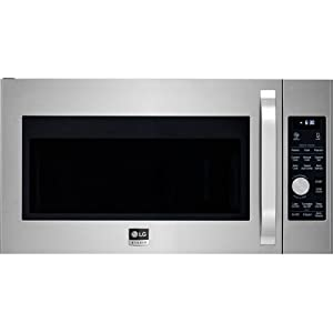 LG LSMC3086STStudio 1.7 Cu. Ft. Stainless Steel Over-the-Range Microwave