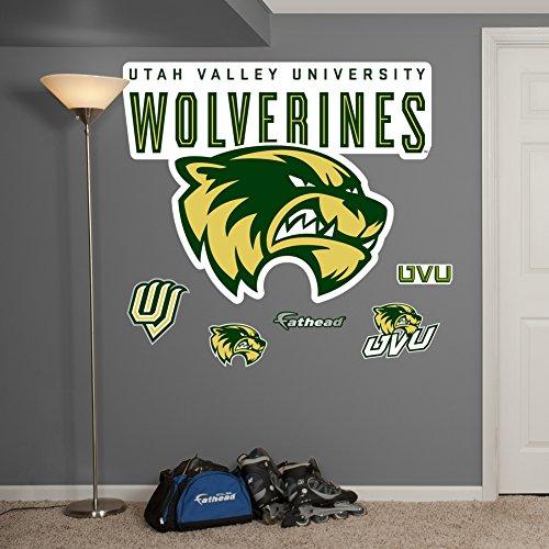 UPC 885671085491, NCAA Utah Valley Wolverines Logo Wall Graphic