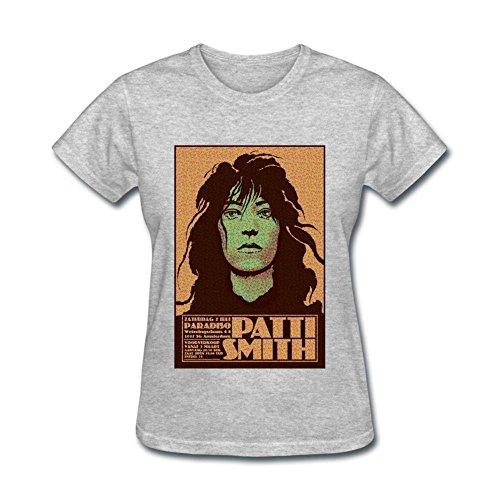 Grey Xxxxl Art Patti Smith Shirt Design T Femme's xq07ZfTT
